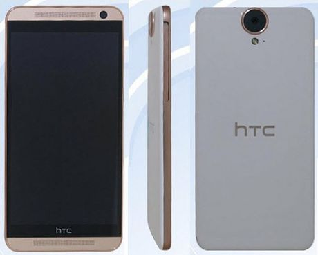 "Ro ri hinh anh HTC One E9 voi camera sau ""khung"" - Anh 2"
