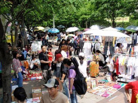 Nhung khu mua sam gia re dung nen bo lo o Seoul - Anh 2