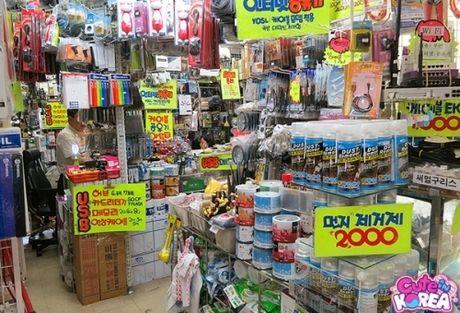 Nhung khu mua sam gia re dung nen bo lo o Seoul - Anh 5