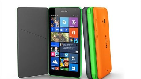 Smartphone sieu re Lumia 435 chay Windows Phone 10 - Anh 1