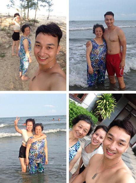 Thanh Trung dau don vi me mat dot ngot - Anh 2