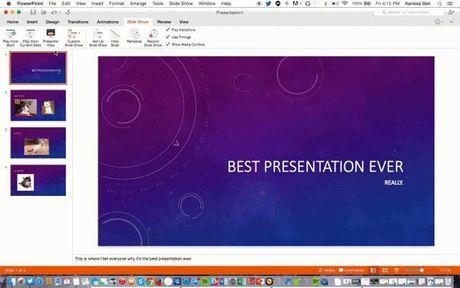 10 tinh nang tot nhat tren Office 2016 Preview cho may Mac - Anh 8