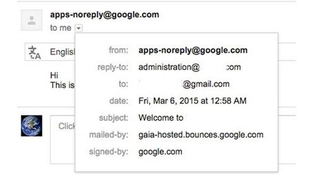 Loi dung lo hong tren Google Apps de lam gia email - Anh 2