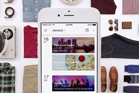 Google Calendar co phien ban chay tren iPhone - Anh 1