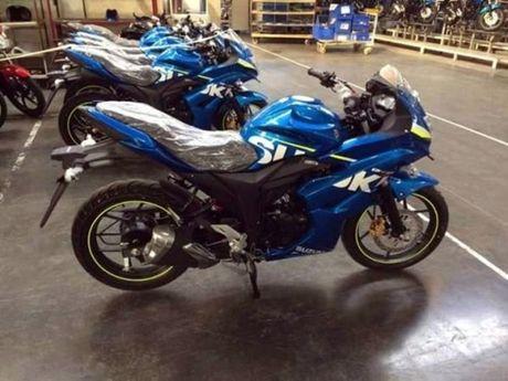 Lo dien Suzuki Gixxer SLK - doi thu moi cua Yamaha R15 - Anh 1
