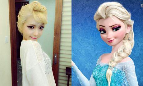 Nhung nang cong chua Disney phien ban Kpop - Anh 1