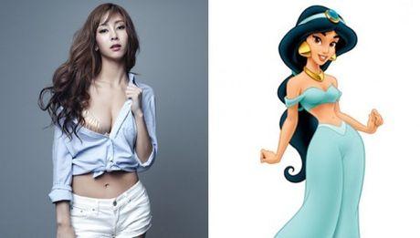 Nhung nang cong chua Disney phien ban Kpop - Anh 10