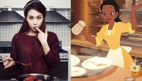 Nhung nang cong chua Disney phien ban Kpop - Anh 11