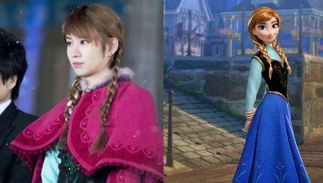 Nhung nang cong chua Disney phien ban Kpop - Anh 2