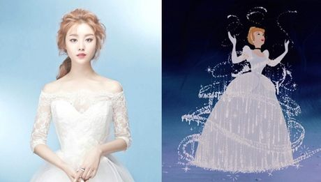 Nhung nang cong chua Disney phien ban Kpop - Anh 4