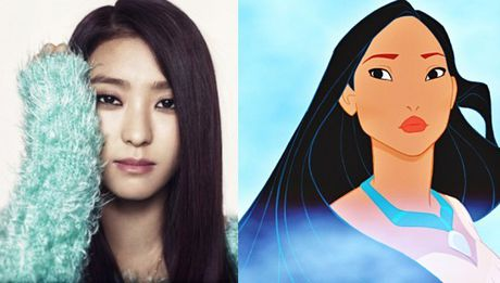 Nhung nang cong chua Disney phien ban Kpop - Anh 5