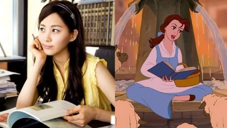 Nhung nang cong chua Disney phien ban Kpop - Anh 6