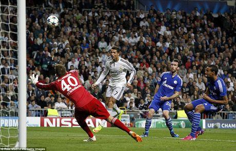 Ronaldo di vao lich su trong dem Real hut chet - Anh 1