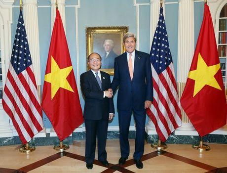 Viet Nam mong muon tang cuong hon nua hop tac voi Hoa Ky - Anh 1