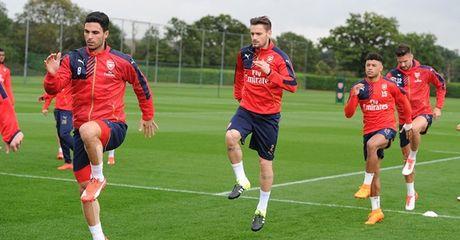 Lo doi hinh Arsenal truoc dai chien voi Chelsea - Anh 1