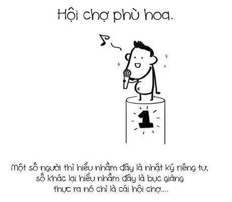 Tranh ve su that ve Facebook cua nhom Le Bich - Anh 7
