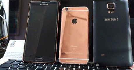 """Bao My ca ngoi dich vu """"che"""" iPhone6 thanh iPhone 6s vang hong o VN - Anh 1"""