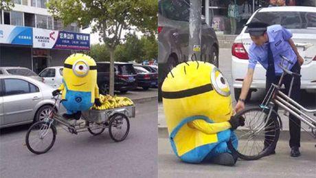 """""""Minions"""" ban chuoi bi canh sat """"hoi tham"""" - Anh 4"""