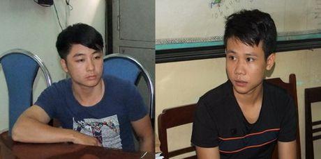 Bat hai doi tuong chem nha bao tai Thai Nguyen - Anh 1