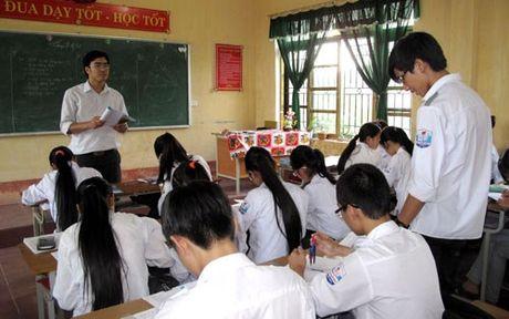 So GD&DT Ninh Thuan trien khai tinh gian bien che giai doan 2015-2021 - Anh 1