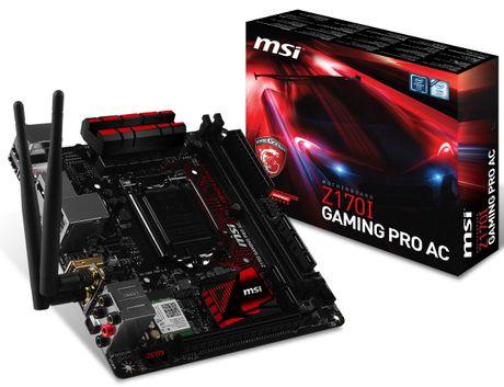 MSI them hai bo mach chu Mini-ITX cho nen tang SkyLake - Anh 1