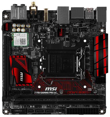 MSI them hai bo mach chu Mini-ITX cho nen tang SkyLake - Anh 2