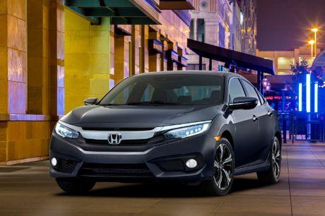 Honda Civic 2016 se bat dau ho tro CarPlay - Anh 1