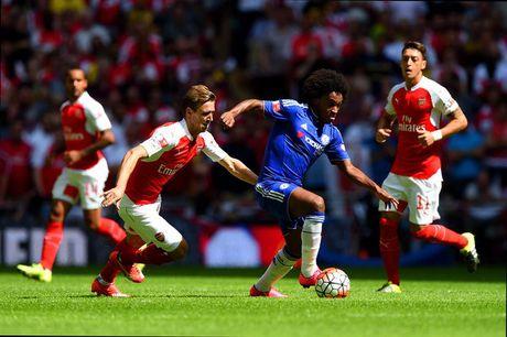 HLV Mourinho se bat tay Wenger khi Chelsea tiep Arsenal - Anh 3