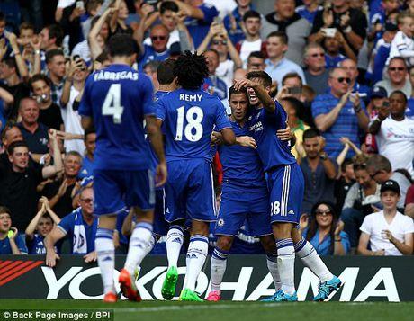 Arsenal bi duoi 2 nguoi, thua tan nat Chelsea - Anh 1