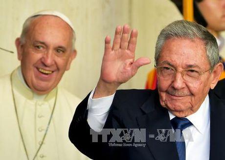 Giao hoang Francis tham lich su toi Cuba, My - Anh 1