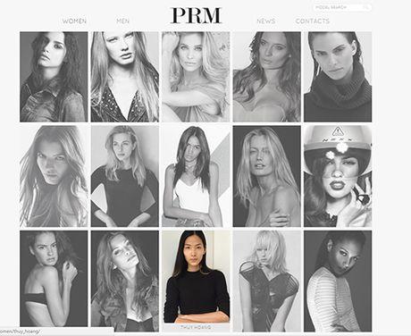 "Hoang Thuy tiep tuc ""cong pha"" san dien London Fashion Week - Anh 5"