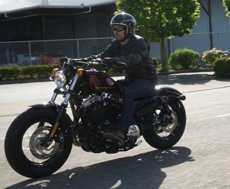 Harley Davidson VN day manh ban mau xe cho nguoi co voc dang nho - Anh 5
