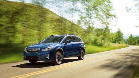 Subaru Crosstrek 2016 chinh thuc trinh lang - Anh 1