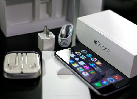 iPhone 6S chinh hang lo gia va ngay ban - Anh 1
