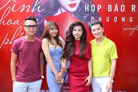 """Co gai """"vua an, vua hat"""" duoc Dam Vinh Hung do dau ra mat single dau tay - Anh 3"""