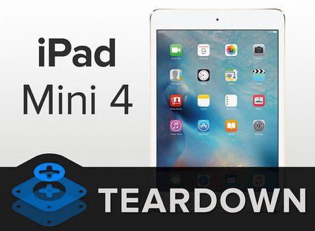 iFixit mo iPad Mini 4: RAM 2GB, kho sua chua - Anh 1