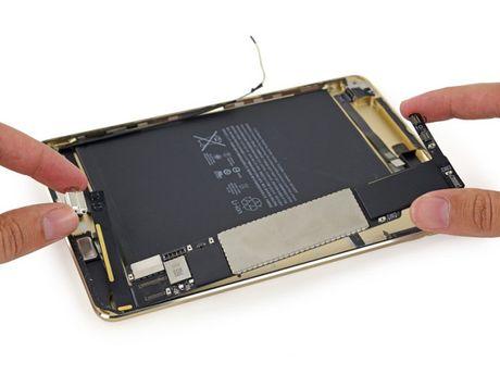 iFixit mo iPad Mini 4: RAM 2GB, kho sua chua - Anh 12
