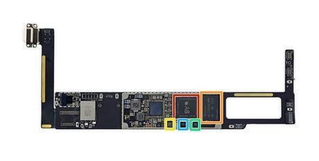 iFixit mo iPad Mini 4: RAM 2GB, kho sua chua - Anh 13