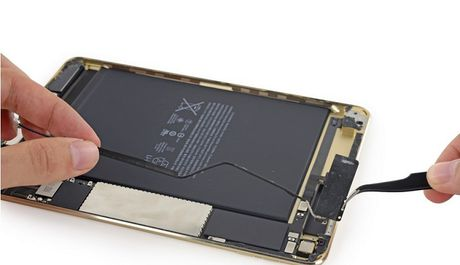iFixit mo iPad Mini 4: RAM 2GB, kho sua chua - Anh 9