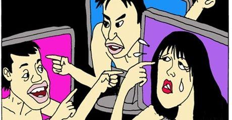 Vo tre con cu gian chong la len facebook chui dong! - Anh 2