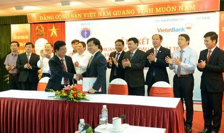 VietinBank danh 30.000 ty dong dau tu phat trien Nganh Y te - Anh 1