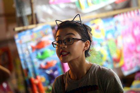 Hot girl di cho trung thu Hang Ma - Anh 3