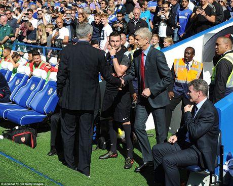 Arsenal guc nga trong tran dai chien voi Chelsea - Anh 1