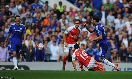Arsenal guc nga trong tran dai chien voi Chelsea - Anh 12