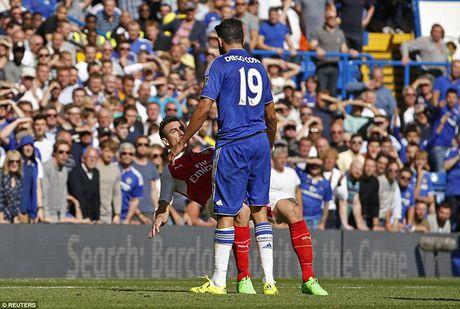 Arsenal guc nga trong tran dai chien voi Chelsea - Anh 5