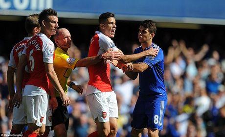 Arsenal guc nga trong tran dai chien voi Chelsea - Anh 7