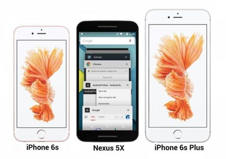 Nexus 5X lo anh xanh bac ha, so dang voi iPhone 6S - Anh 3