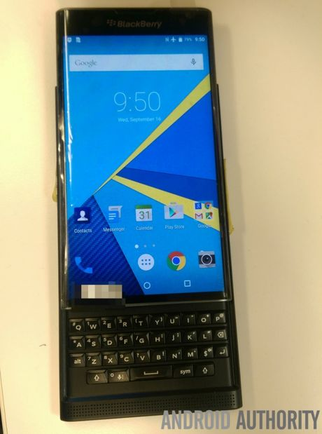 Lo giao dien cua BlackBerry Venice chay Android - Anh 2