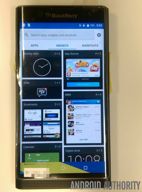 Lo giao dien cua BlackBerry Venice chay Android - Anh 6