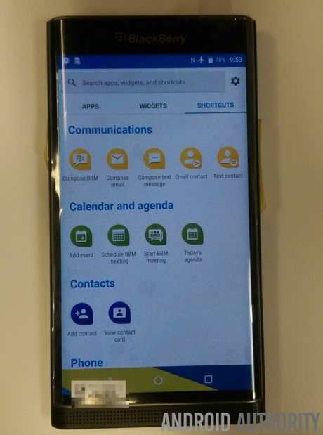 Lo giao dien cua BlackBerry Venice chay Android - Anh 7
